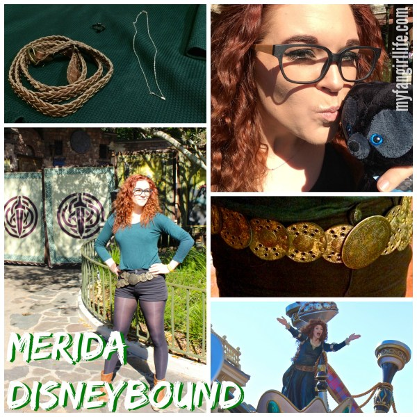 Merida (Brave) Disneybound Outfit