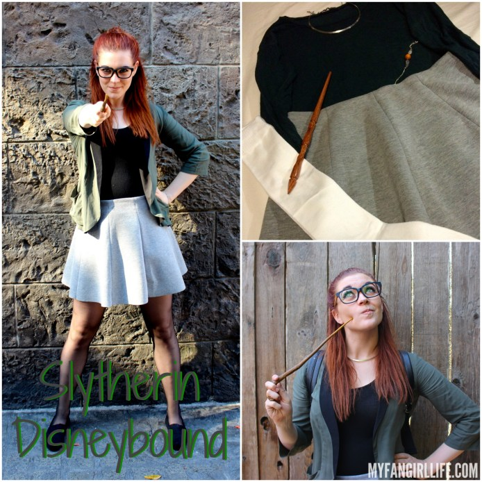 Slytherin Disneybound