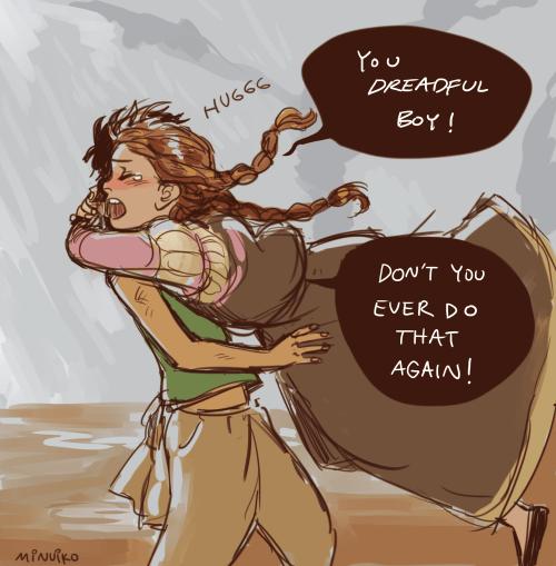 Briar and Sandry