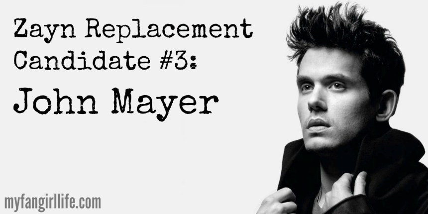 1D Zayn Replacement Candidate 3 - John Mayer