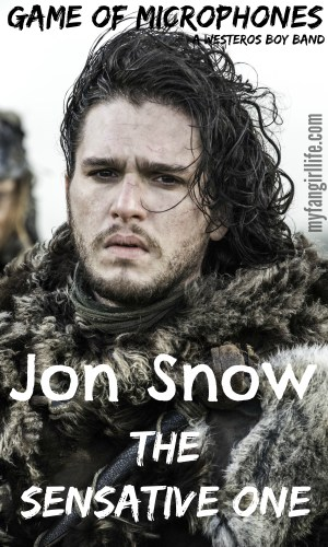 Game of Thrones Boy Band Jon Snow