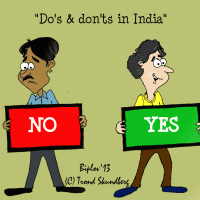 Do's and don'ts on business travel to India (updated)
