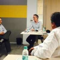 Norwegian executives exploring Mumbai innovation