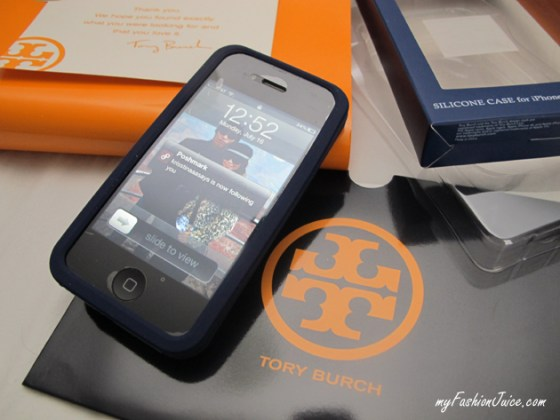 Tory Burch iPhone Case 8 {Gadgets} My New Tory Burch iPhone Case
