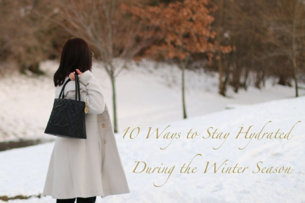 10 Ways to Stay Hydrated During Winter 2 Un Frozen: Moisturize with SteamCream plus 10 Ways to Stay Hydrated