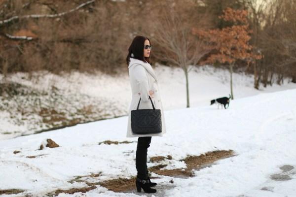 Winter White Coat10 Winter White Coat from Jessica Simpson
