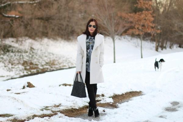 Winter White Coat3 Winter White Coat from Jessica Simpson