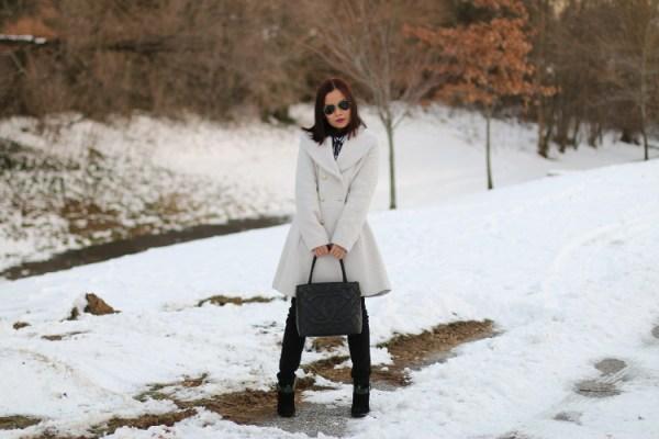 Winter White Coat5 Winter White Coat from Jessica Simpson