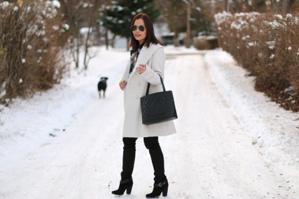 Winter White Coat6 Winter White Coat from Jessica Simpson
