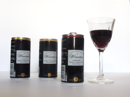 Wine in Tin Cans?