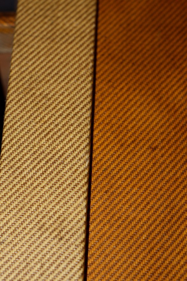 Tweed comparison from two 1959 Fender Champs