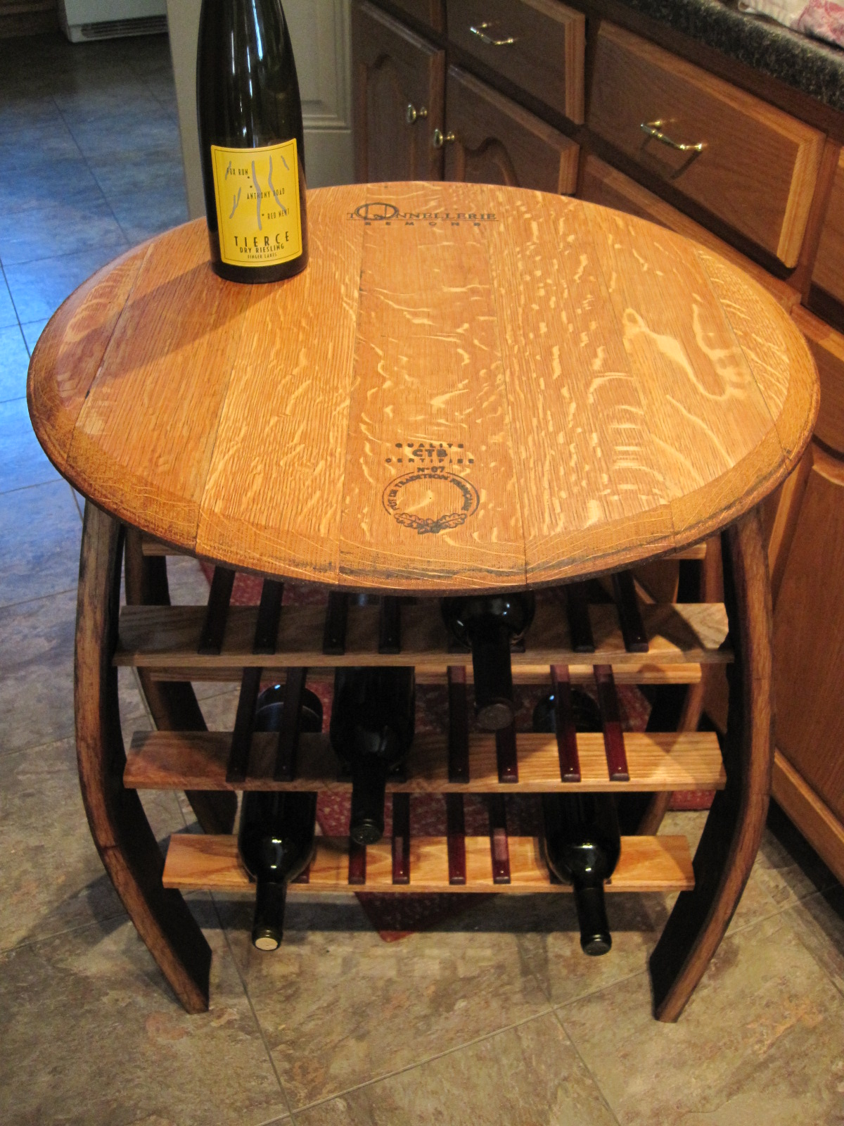 Teal Custom Wine Barrel Furniture Custom Wine Barrel Furniture My Fingerlakesny Wine Barrel Table Storage Wine Barrel Table Chairs houzz 01 Wine Barrel Table