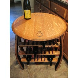 Small Crop Of Wine Barrel Table