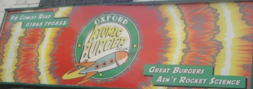 Atomic Burger Oxford