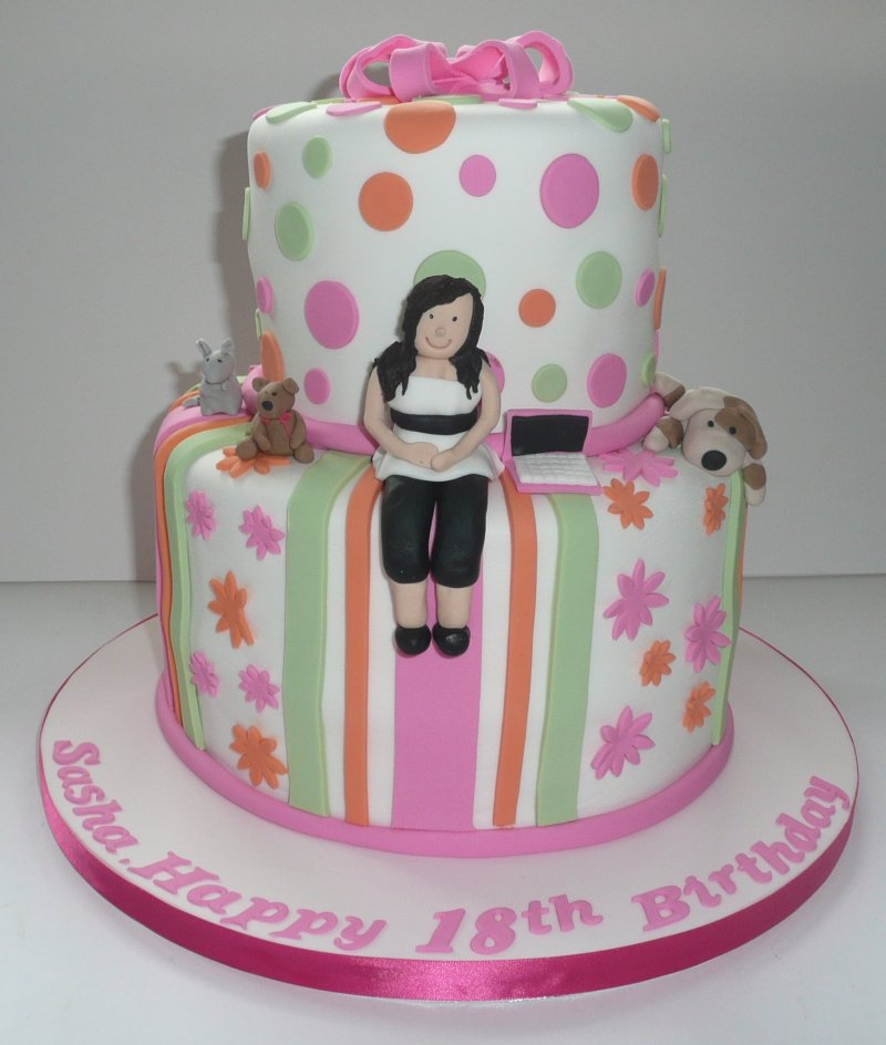 Large Of Birthday Cakes For Girls