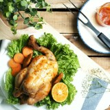 [NEW RECIPE] Barbecue (BBQ) Roasted Chicken with Orange