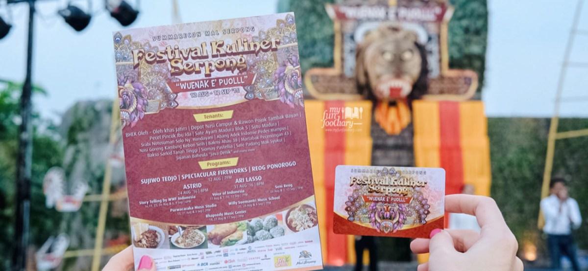 [NEW] Festival Kuliner Serpong 2016 Seru di Summarecon Mall Serpong