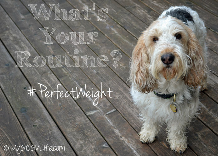 Maintain Your #PerfectWeight Through A Healthy Routine