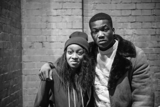 Little Simz and Jacob Banks