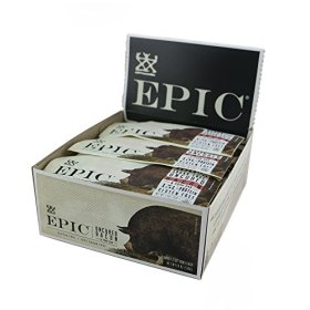 Epic All Natural Meat Bar, 100% Natural, Bacon, 1.5 ounce, 12 Count