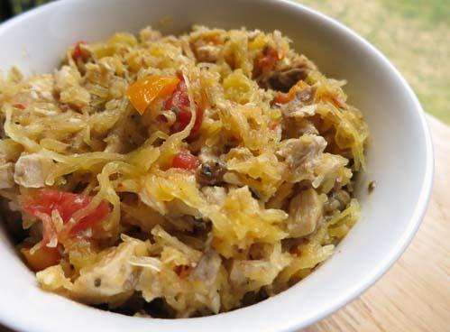 Paleo Chicken Spaghetti III