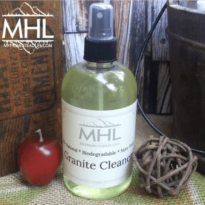 All Natural, Handcrafted Apple Cinnamon Granite Cleaner by My Homestead Life