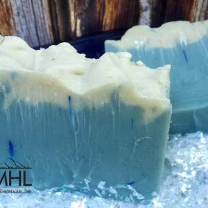Winter Wonderland Cold Processed Soap by My Homestead Life