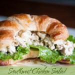 Southwest Chicken Salad {Please Comment and Help Me Win a Recipe Contest!}