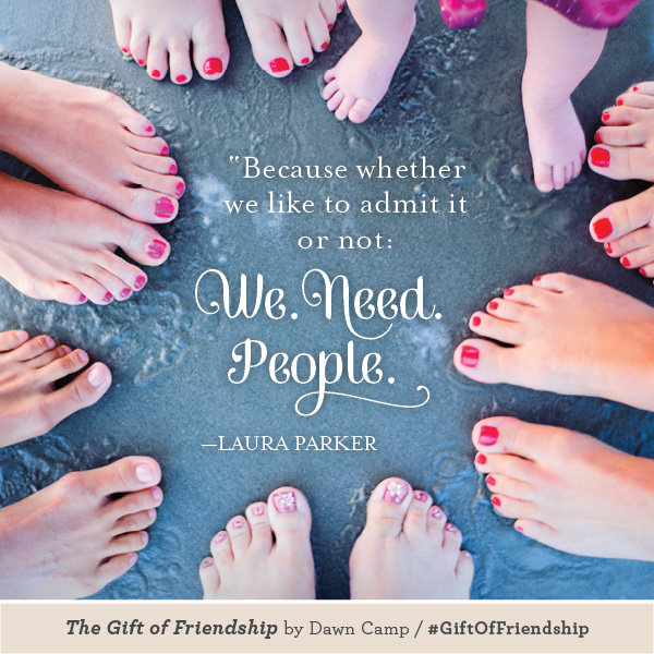 Laura Parker The Gift of Friendship #GiftofFriendship