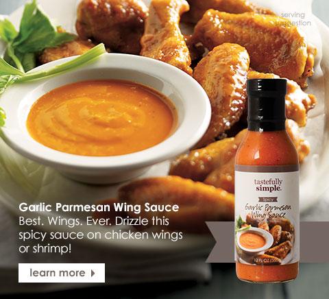Garlic Parmesan Wing Sauce
