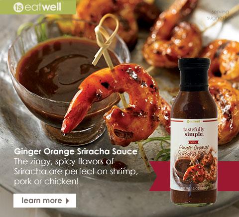Ginger Orange Sriracha Sauce