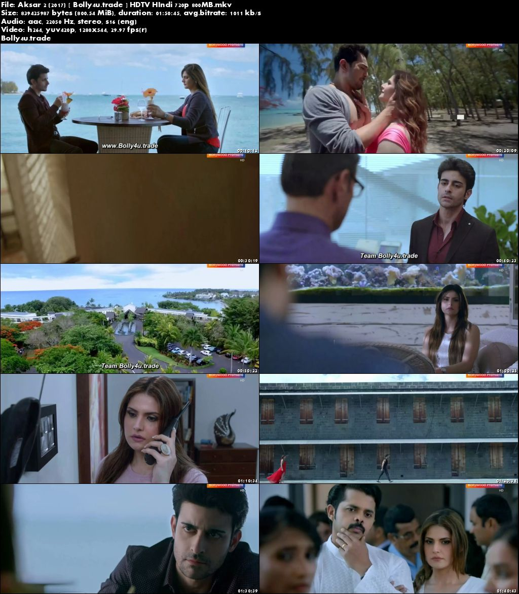 Aksar 2 2017 HDTV 350MB Full Movie Download 480p