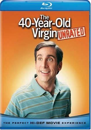The 40 Year Old Virgin 2005 BRRip 400Mb UNRATED Hindi Dual Audio 480p Watch Online Full Movie Download Worldfree4u 9xmovies