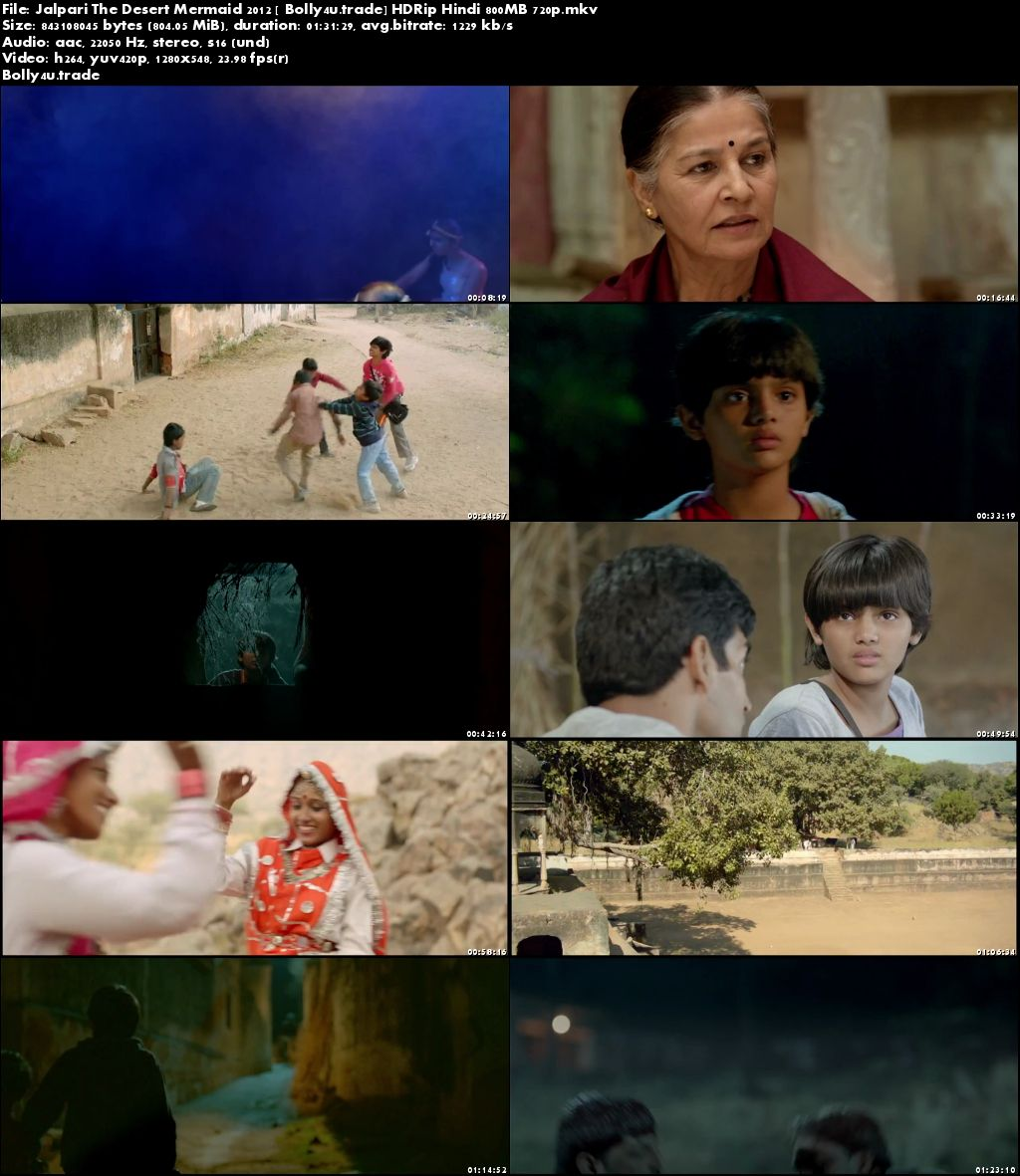 Jalpari The Desert Mermaid 2012 HDRip 280MB Hindi 480p