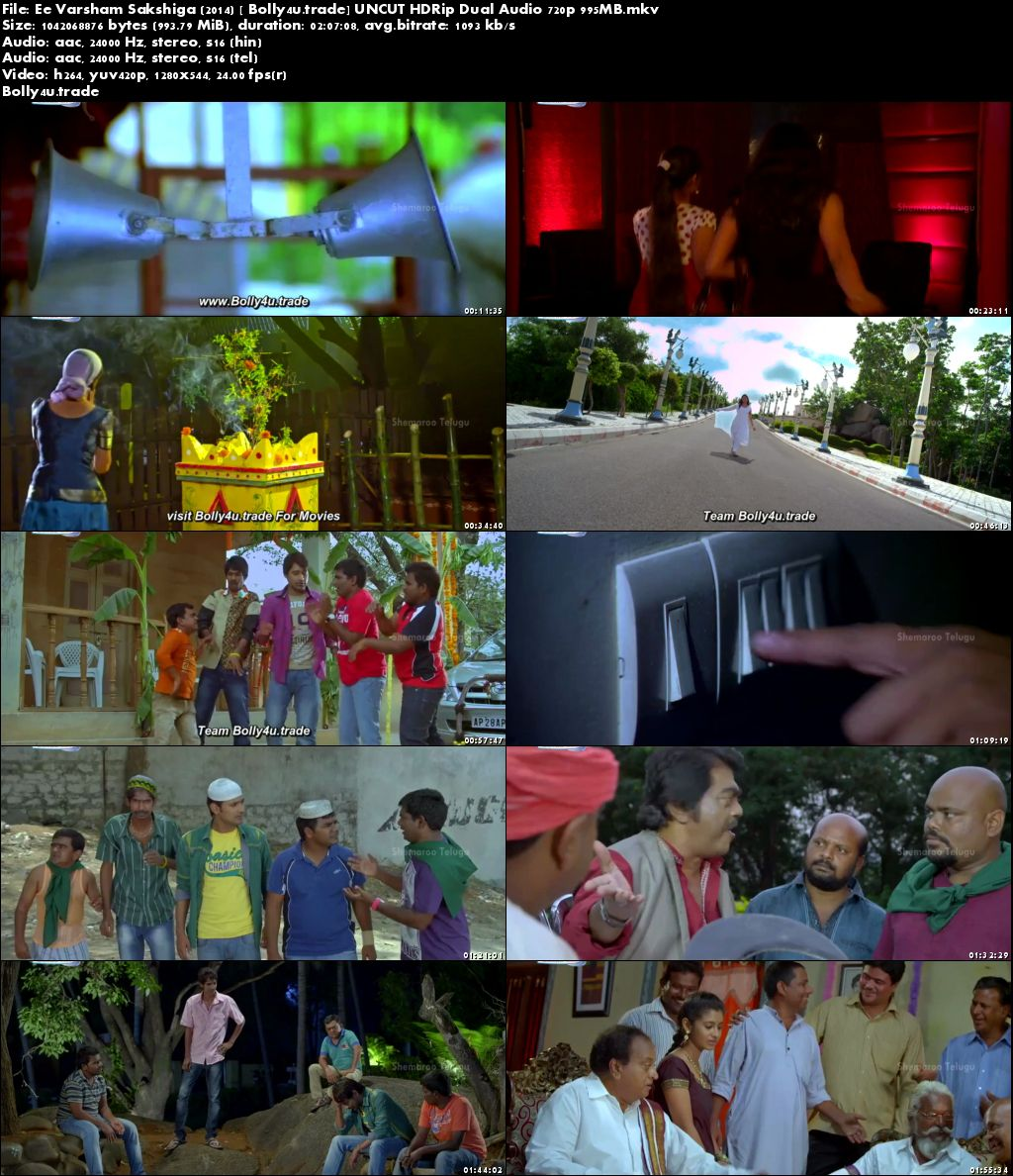 Ee Varsham Sakshiga 2014 HDRip 400MB UNCUT Hindi Dual Audio 480p