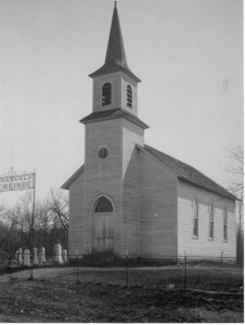 The first church was used from 1891 until 1928