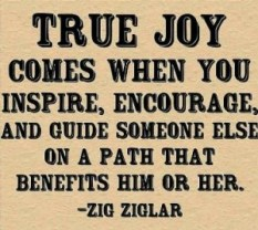 ziglar true joy comes from encouraging web small