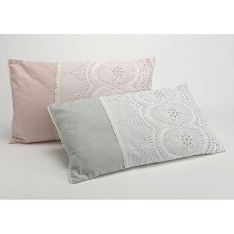 .amazon moderno cuscino pizzo due federe di di Amadeus
