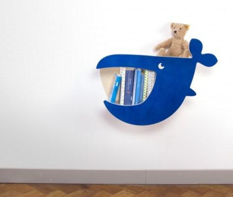 balòena libreria Moby by Julica-design