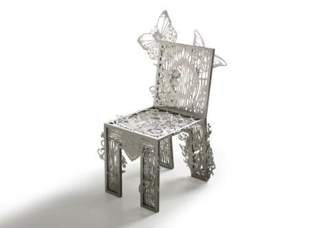 immagine architettura e design sedia chair of textures di tjep per droog design