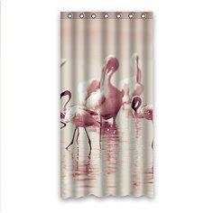 .amazon Crazy Ants Personalizzato Fenicottero Flamingo Questo Tessuto di Poliestere Bagno Tenda da Doccia Shower Curtain