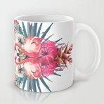 .amazon di klodyke Fenicotteri Tropicales Tazza Tazza tazza di ceramica materiale migliore regalo per classico