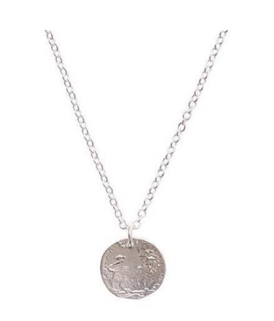 Lucky Penny Layered Necklace 002