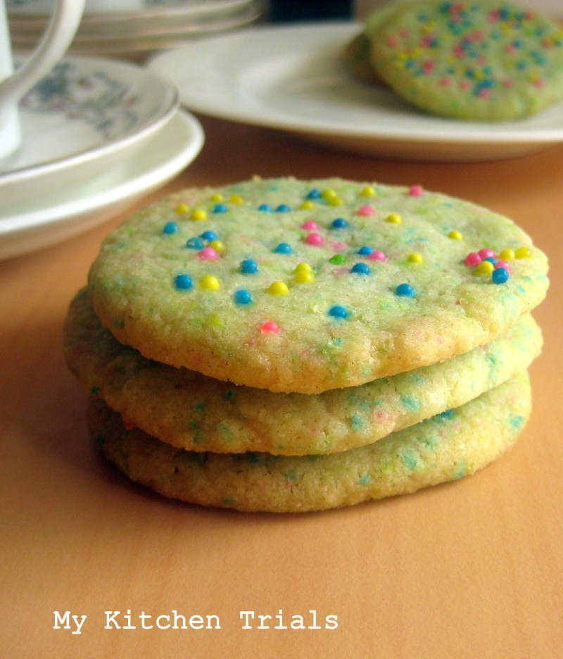 Large Of Eggless Sugar Cookies