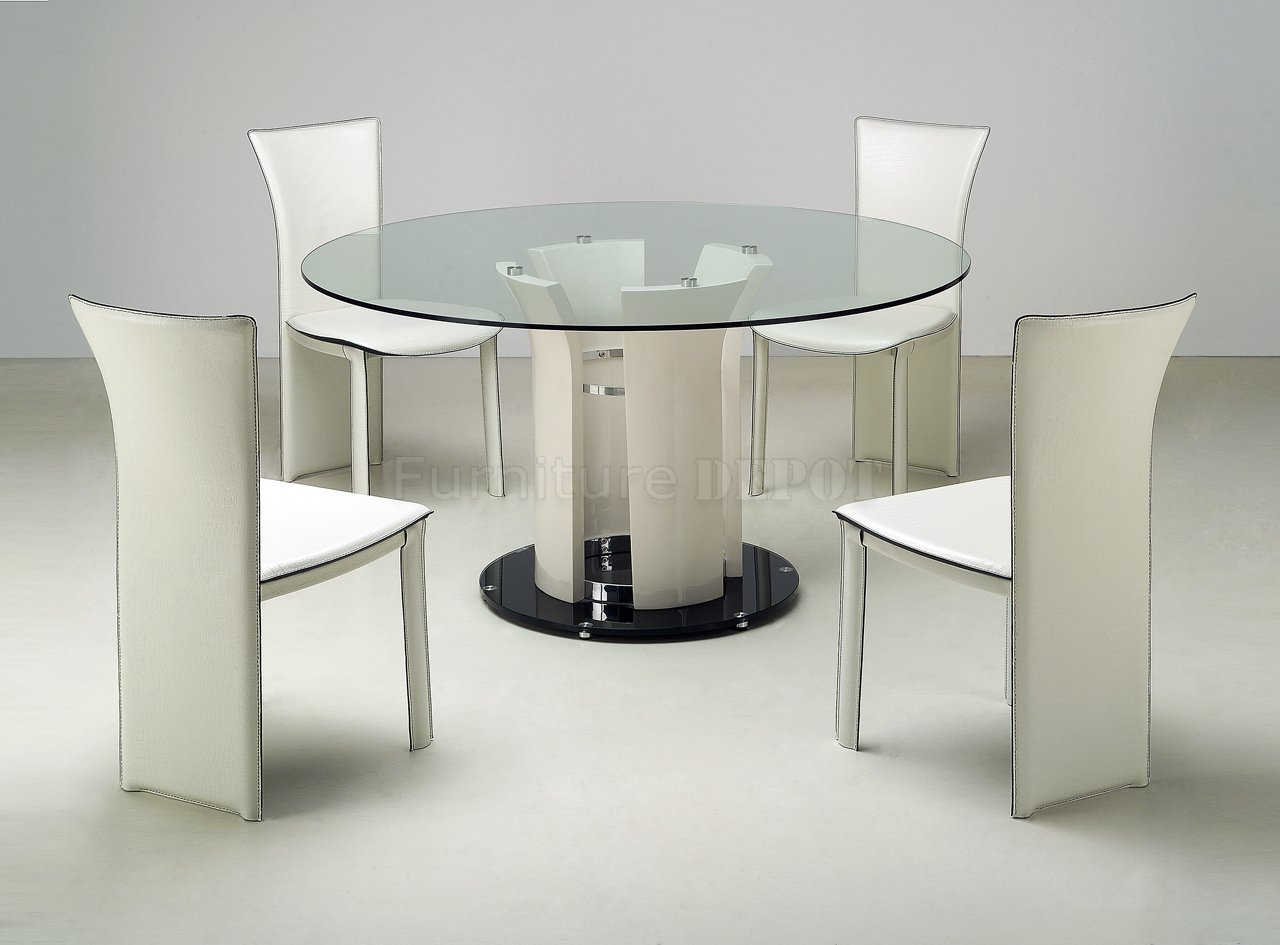 round glass kitchen table sets glass kitchen table Round glass kitchen table sets Photo 3