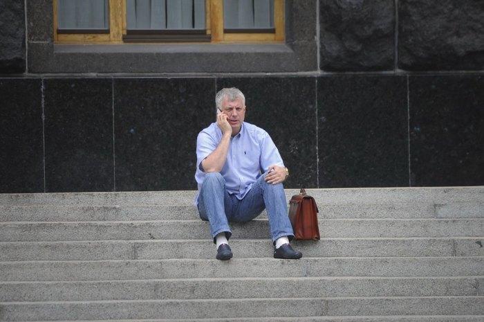 На сходах біля Кабміну, липень 2015
