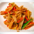 Fish cake stir fry