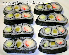 Traffic light kimbap 1