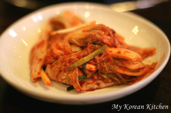 Knife Cut Noodles with Seafood From Ntinamu  kimchi