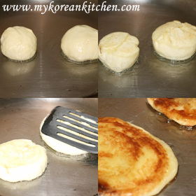 Korean Sweet Pancakes (Hoddeok) - Fully Home Made Version  cooking